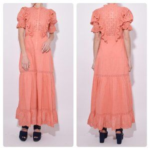 Ulla Johnson Halley Dress in Coral